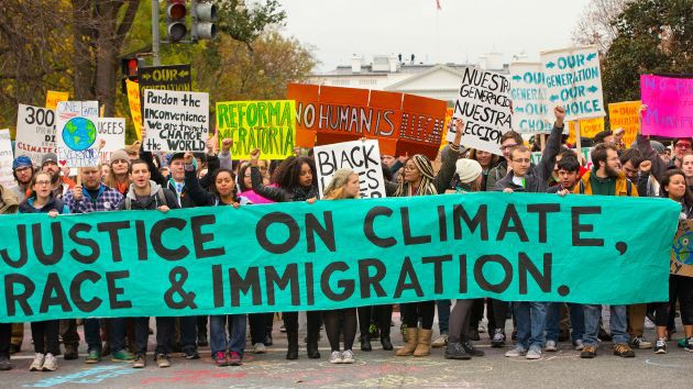 Climate March at the White House